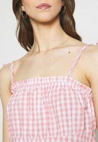 Cotton On - MATILDA TIE STRAPPY MINI DRESS - Day dress - fairy floss - 5