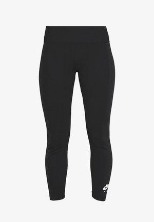 Leggings - Trousers - black/ice silver