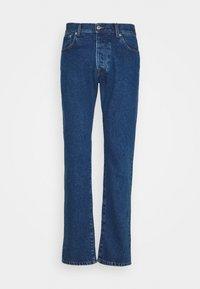 Trussardi - FIVE POCKET MEDIUM STONE - Straight leg jeans - cobalt blue - 0