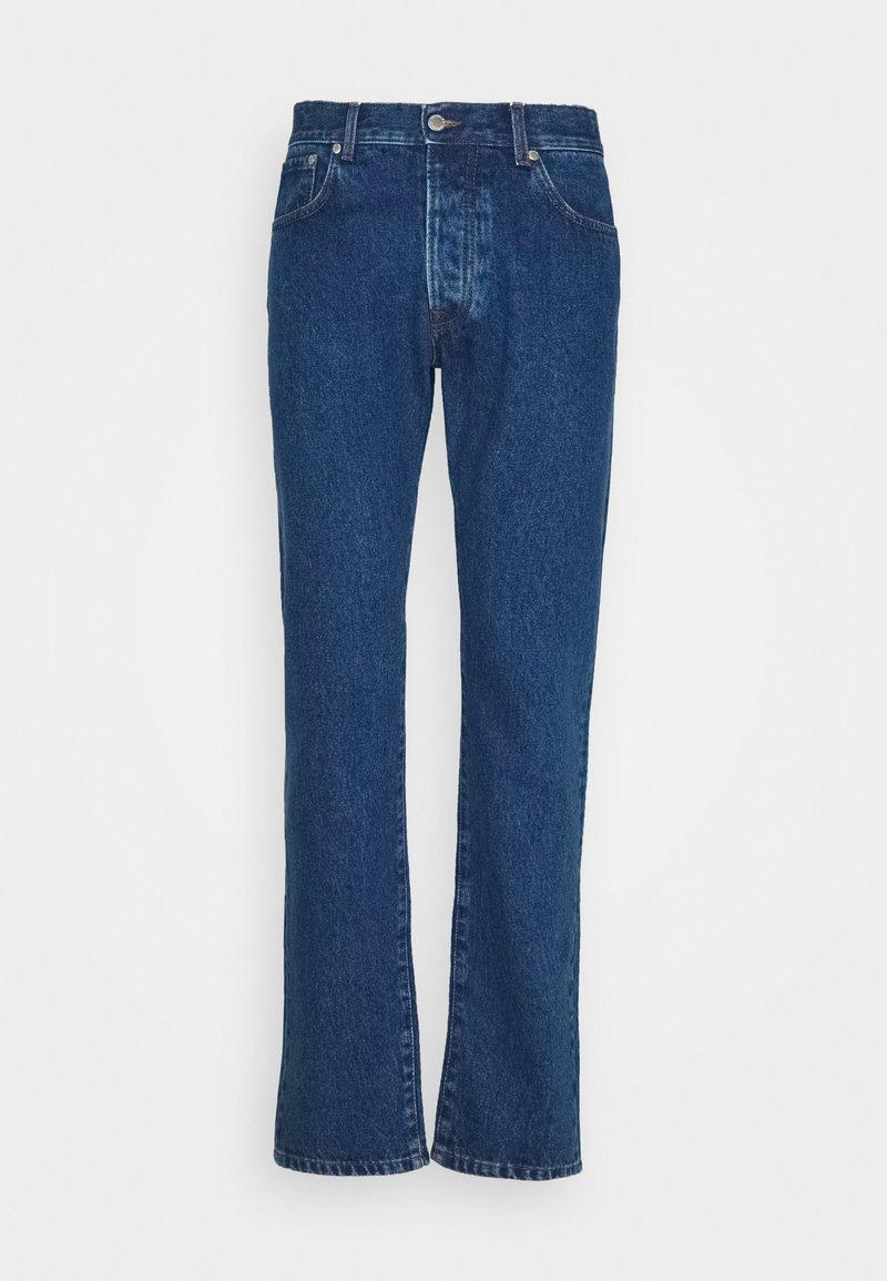 Trussardi - FIVE POCKET MEDIUM STONE - Straight leg jeans - cobalt blue