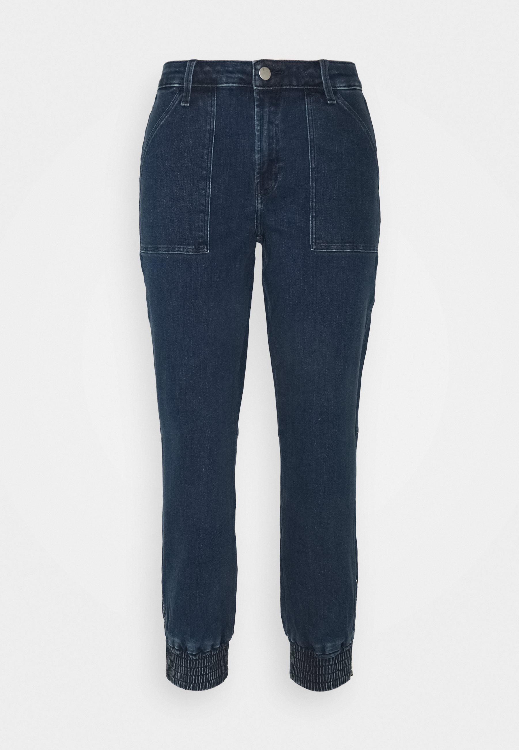 Women ARKIN ZIP ANKLE JOGGER - Straight leg jeans