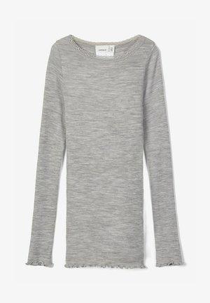 Camiseta de manga larga - grey melange