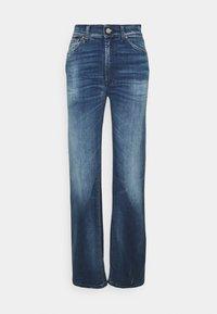 Dondup - PANTALONE MABEL - Flared Jeans - blue denim - 0