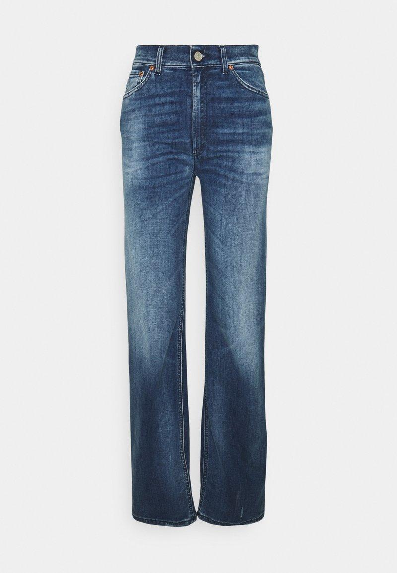 Dondup - PANTALONE MABEL - Flared Jeans - blue denim