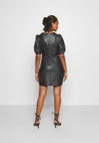 ONLY - ONLRACHEL PUFF DRESS  - Vestido de cóctel - black - 2