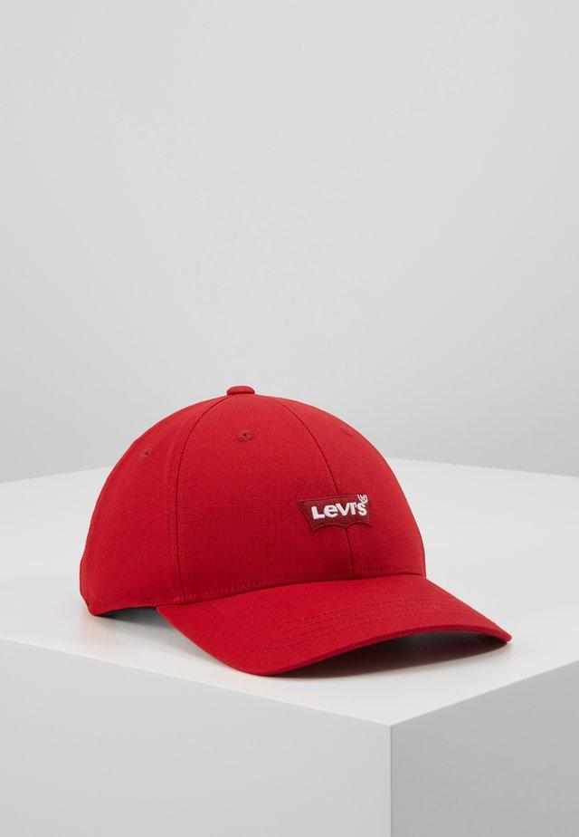 MID BATWING FLEXFIT - Cap - regular red