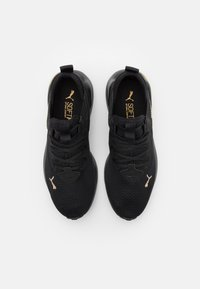 Puma - CELL VIVE - Neutral running shoes - black/team gold - 3