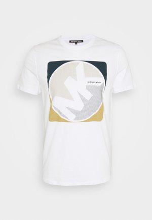 MINIDOT TEE - Print T-shirt - white