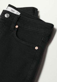 Mango - Jeans Skinny Fit - black denim - 5