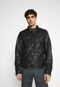 Gipsy - ARIM - Leather jacket - black - 0