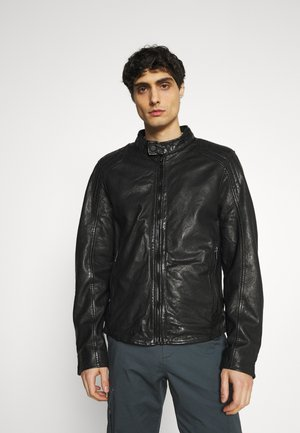 ARIM - Kožená bunda - black