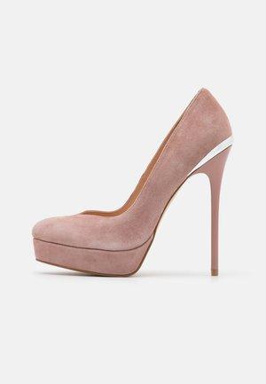 LEATHER - Zapatos altos - light pink