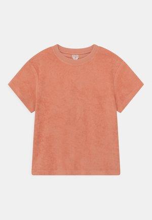 Print T-shirt - peach