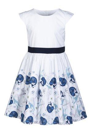 PENNY - Korte jurk - white