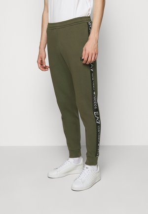 PANTALONI - Trainingsbroek - grape leaf