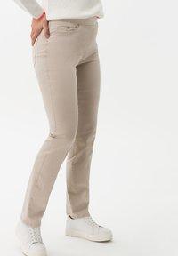 BRAX - STYLE PAMINA - Trousers - sand - 2