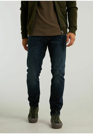 CROWN MADDOX - Straight leg jeans - dark blue