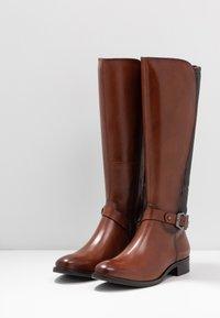 Caprice - BOOTS - Vysoká obuv - cognac - 4