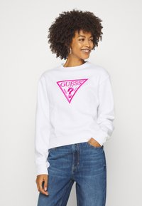 Guess - TRIANGLE - Sweatshirt - true white - 0