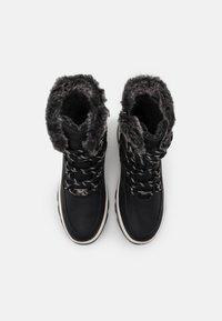 TOM TAILOR - Zimní obuv - black - 5