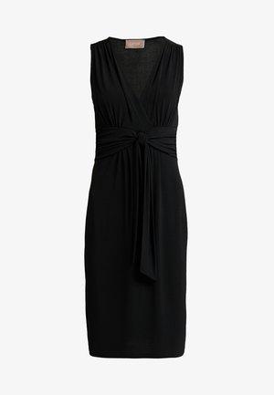 KNOT DETAIL DRESS - Day dress - black