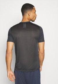 Reebok - TECH TEE - Print T-shirt - ash grey - 2