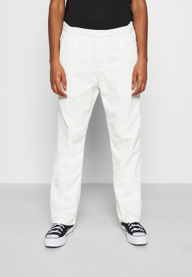 SPLASH PANT - Spodnie materiałowe - bone