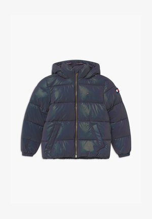 ICONS UNICORN REFLECTIVE PUFFER - Winter jacket - blue