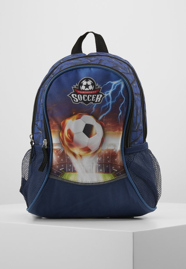 FABRIZIO SOCCER KIDS BACKPACK - Sac à dos - navy blue