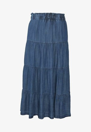 JUPE - A-line skirt - blue denim