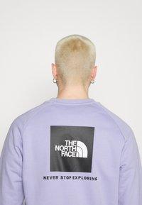The North Face - RAGLAN REDBOX CREW NEW  - Sweatshirt - sweet lavender - 5