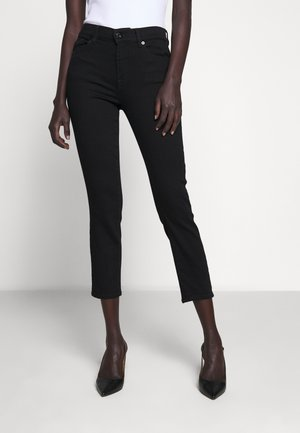 ROXANNE ANKLE - Slim fit jeans - black