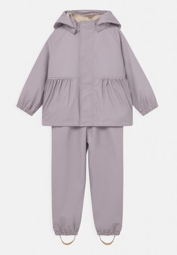 PALME RAINWEAR SOLID SET  - Vodotěsná bunda - lavender mist