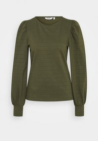 BYSARINA - Long sleeved top - olive night