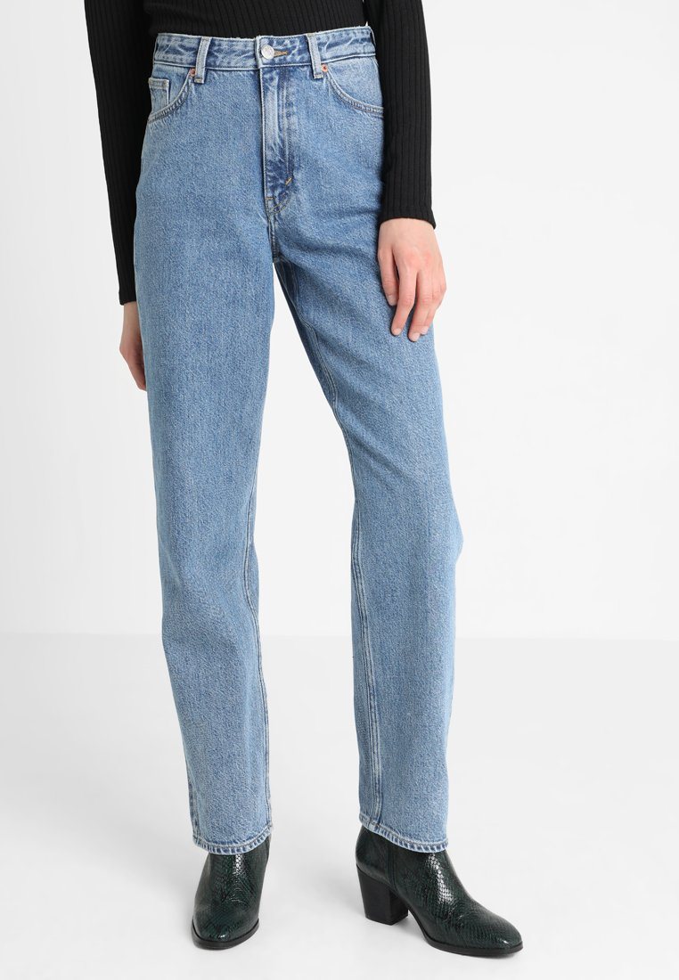 Monki - Jeans relaxed fit - blue