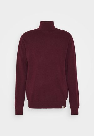PLAYOFF TURTLENECK - Jumper - merlot heather