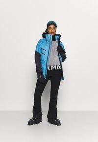 The North Face - BRIGANDINE FUTURELIGHT JACKET - Hardshell jacket - ether light blue/tnf black - 1