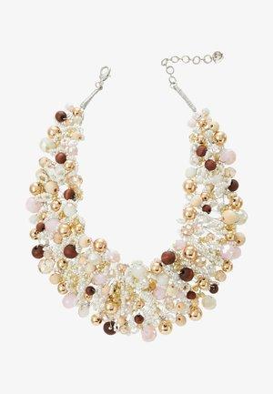 ARVAN - Halsband - brown/blush/crystal
