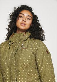 Ragwear Plus - DANKA - Winterjas - light olive - 3