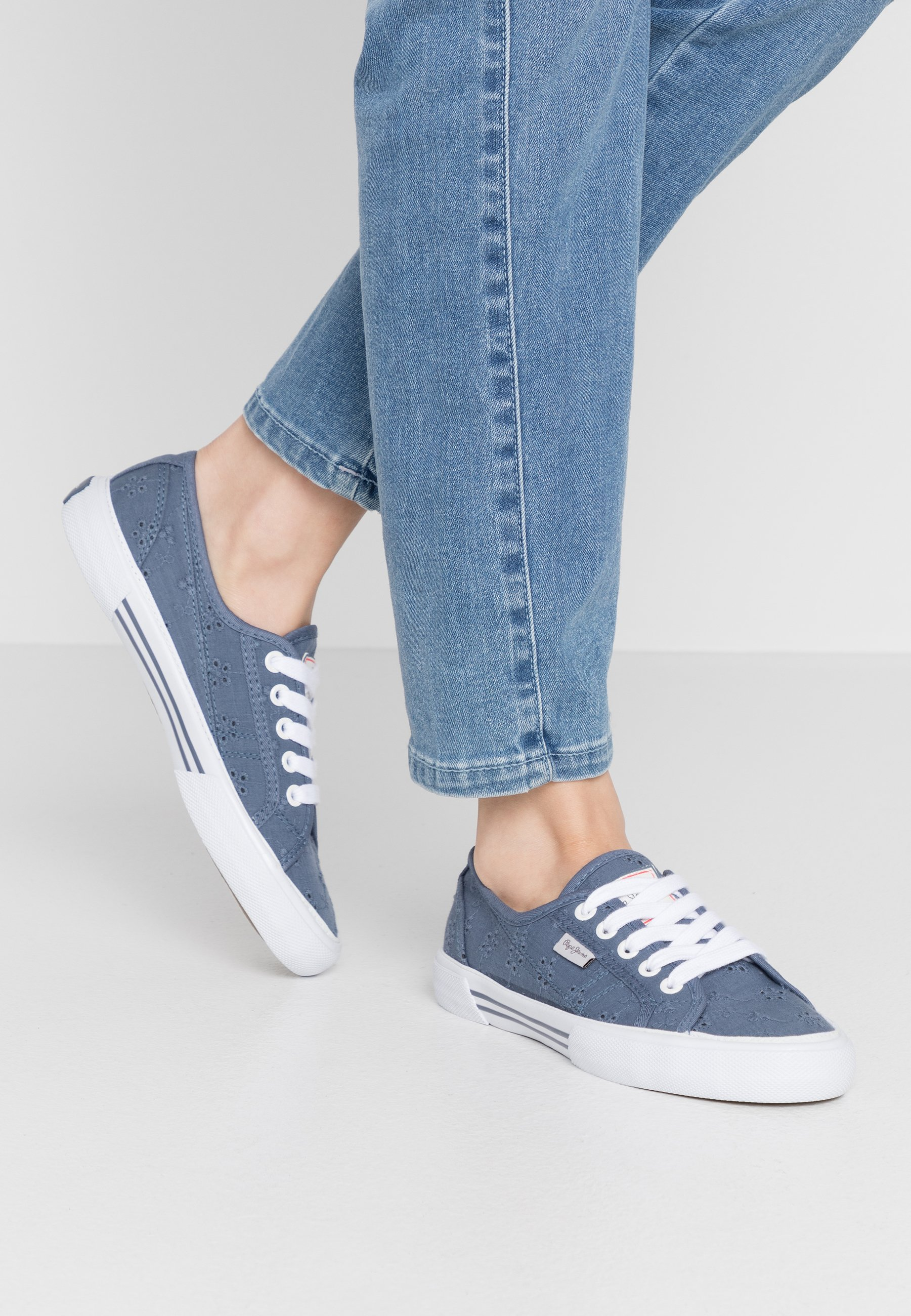 Gutes Angebot Pepe Jeans ABERLADY ANGY - Sneaker low - marine | Damenbekleidung 2020