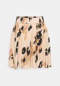 VMSASHA SKATER SKIRT - A-line skirt - toasted almond/sasha