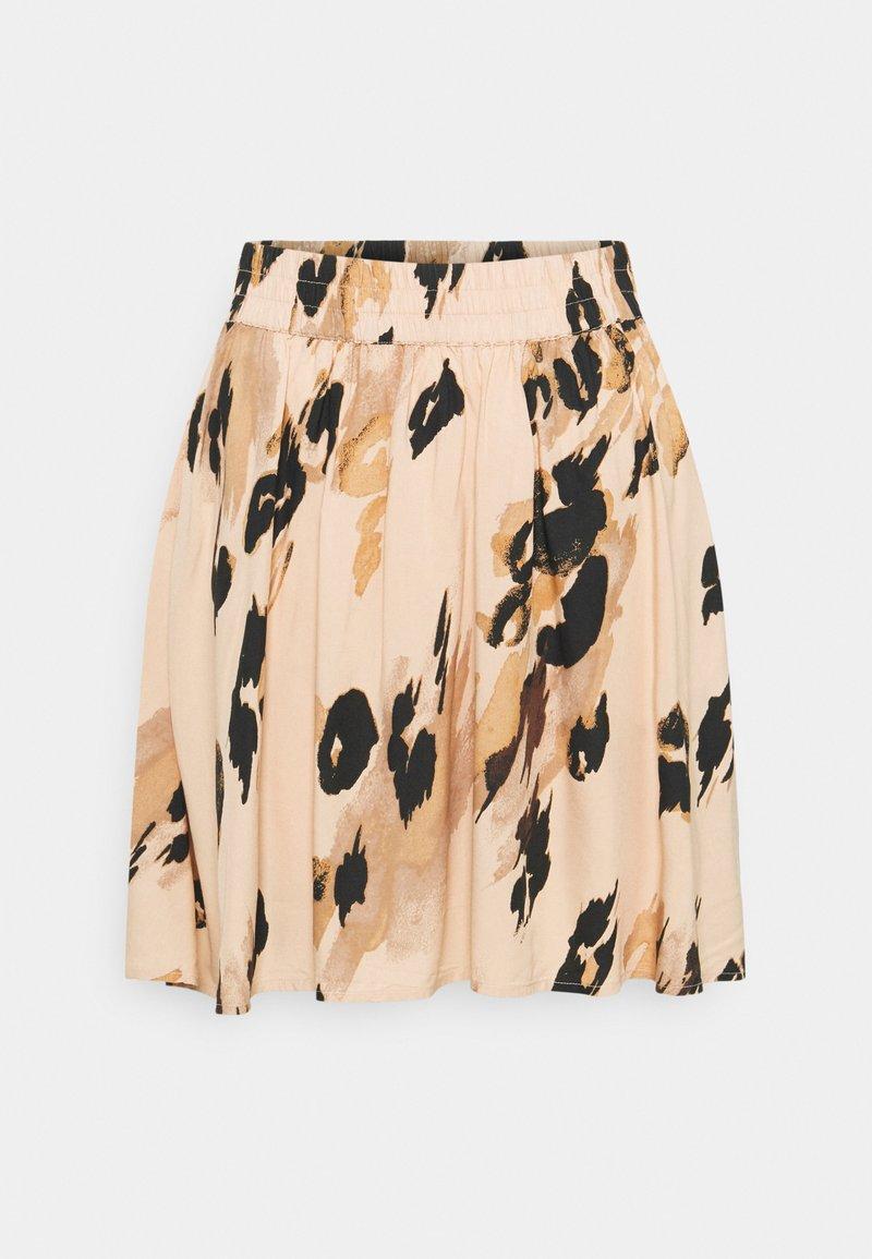 Vero Moda - VMSASHA SKATER SKIRT - A-line skirt - toasted almond/sasha
