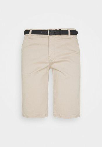 CLASSIC  BELT - Shorts - sand