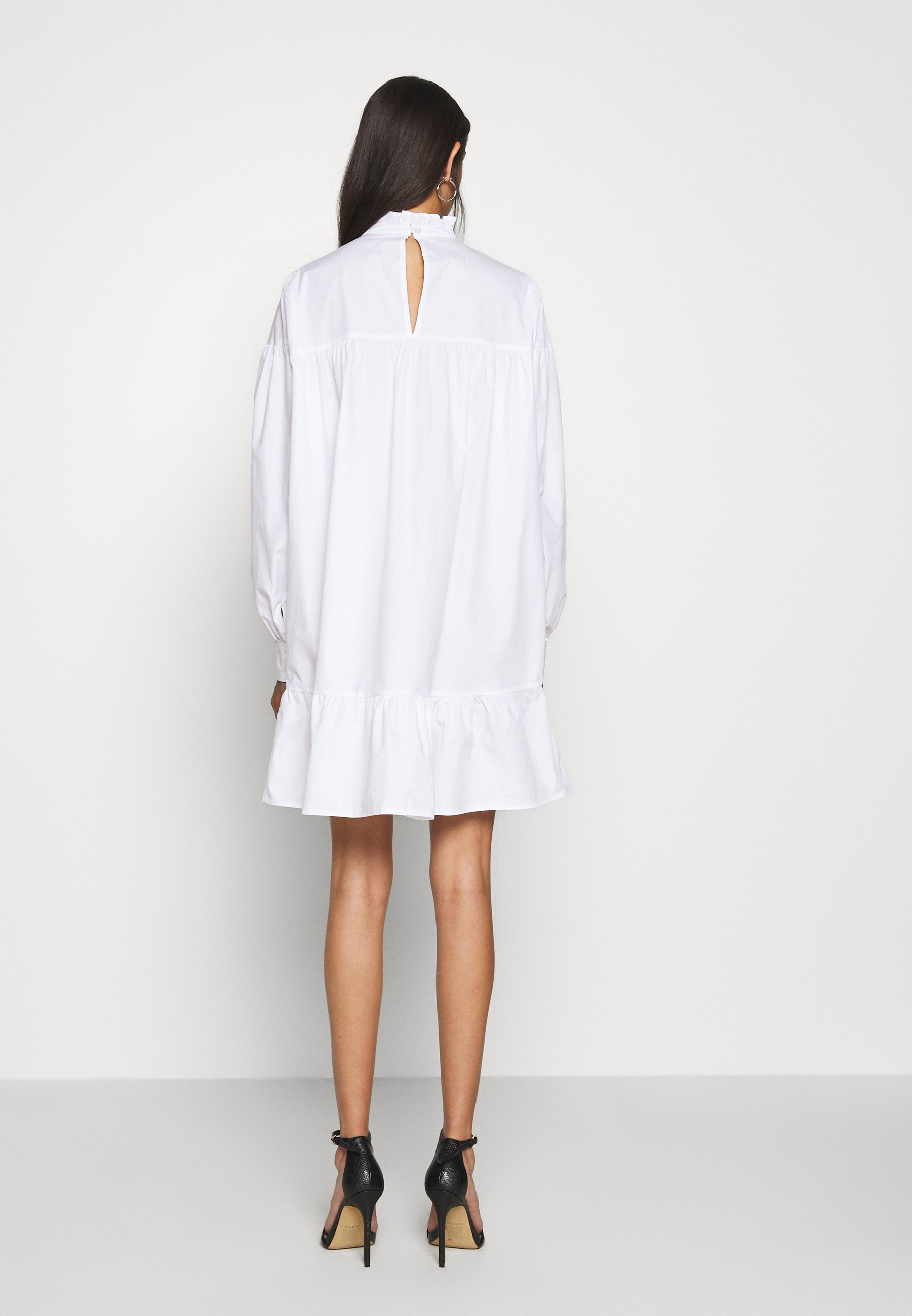 Nly by Nelly CUTE MINI DRESS - Robe d'été - white - Robes femme YPjBZ