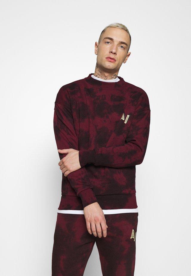 LEX - Sweatshirt - burgundy