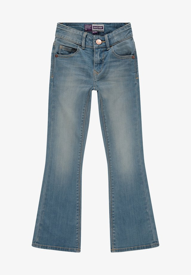 Flared Jeans - light blue stone