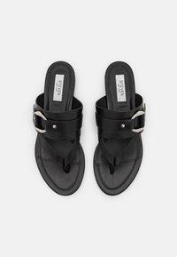 Steven New York - JASMINN - T-bar sandals - black - 5