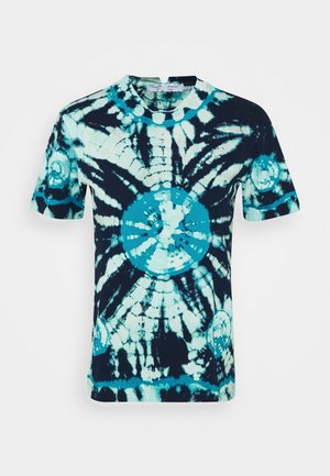 CLASSIC SHORT SLEEVE - Print T-shirt - dark blue