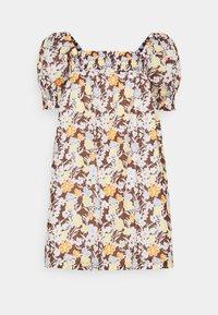 Tory Burch - SMOCKED MINI DRESS - Day dress - lucky meadow - 6