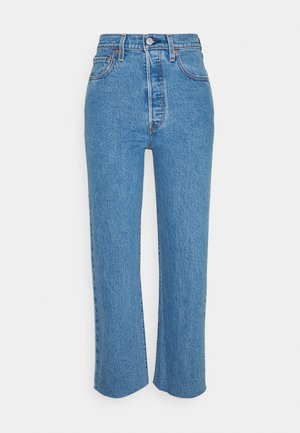 RIBCAGE STRAIGHT ANKLE - Straight leg jeans - jazz wave